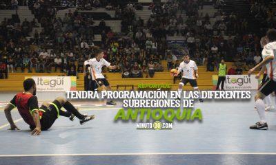 Liga Antioquena de Futbol de Salon con apretado calendario para el 2021 1