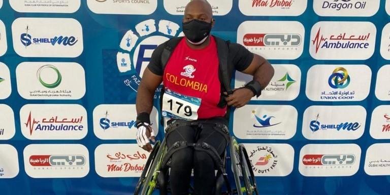Mauricio Valencia en el Grand Prix Dubai