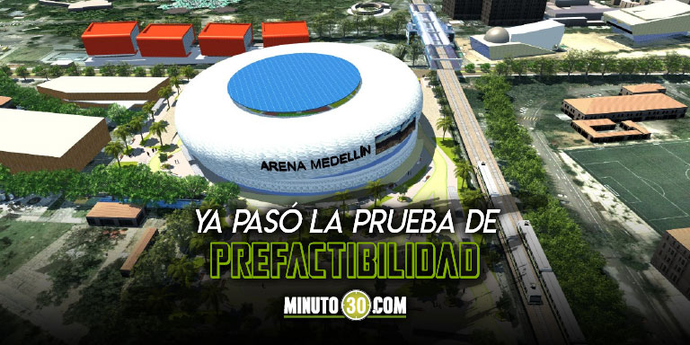 Medellin cada vez mas cerca de tener su Arena un centro de espectaculos de talla mundial