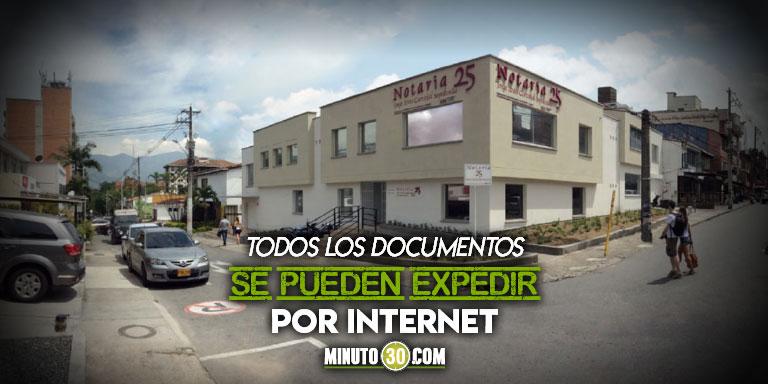Medellin tiene la primer notaria del pais que prestara sus servicios de forma digital