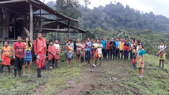 Comunidades Indígenas de Antioquia se declaran en Minga permanente