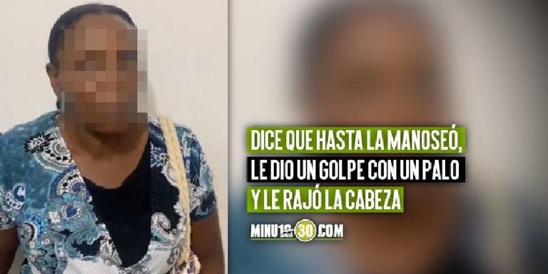 Mujer denuncia a su hijo en Apartadó