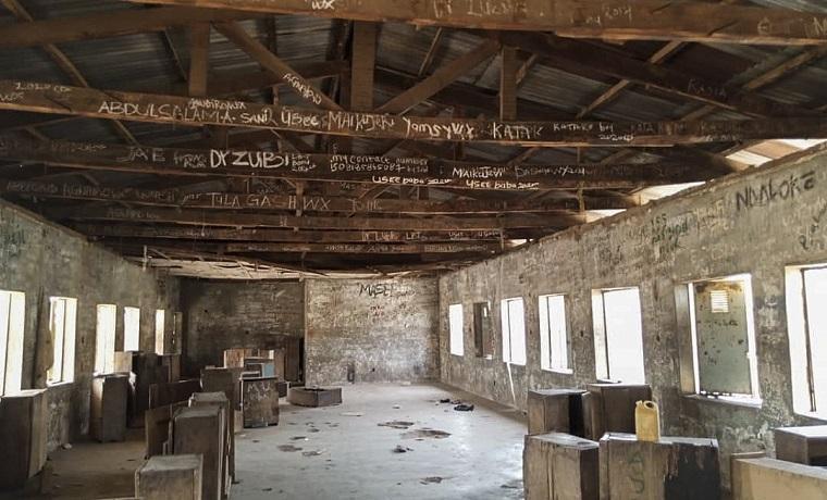 Vista de la escuela de Kagara, en Nigeria, que fue objeto de un ataque el pasado 18 de febrero. EFE/EPA/STR/Archivo