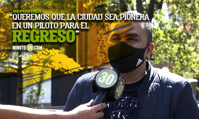 Periodistas deportivos de Antioquia piden pista para regresar al Atanasio Girardor