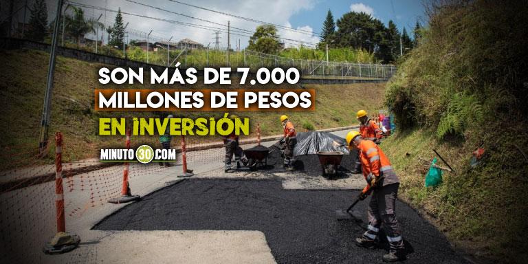 Que buena Medellin inicio plan para recuperar las vias de los corregimientos