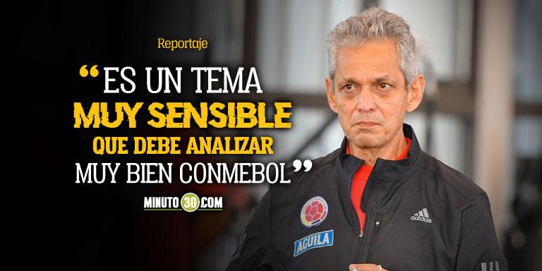 Reinaldo Rueda dice que se debe considerar posibilidad de aplazar fecha de Eliminatorias