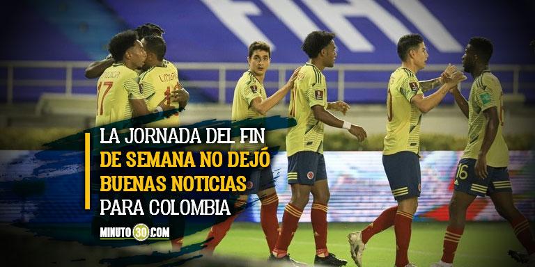 Se encienden las alamas en la Seleccion Colombia por lesiones de jugadores estelares