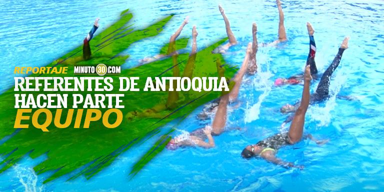 Seleccion Colombia de natacion artistica se prepara en Medellin para Campeonato Suramericano
