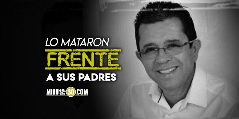 Ya habia denunciado un atentado Asesinan al exalcalde de Yali Antioquia oscar Mira Jimenez