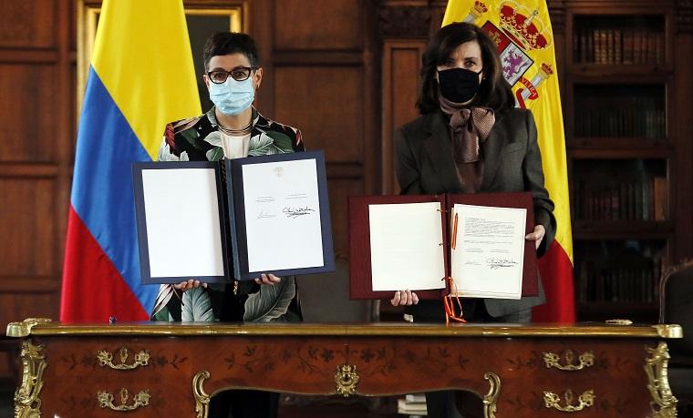 España refuerza su cooperación con Colombia con el Acuerdo de Asociación País