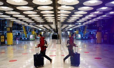 Los aeropuertos europeos pierden 182 millones de pasajeros en enero y febrero