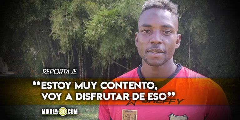 alvaro Angulo primer jugador de aguilas en ser convocado a Seleccion Colombia de Mayores
