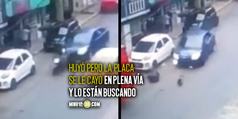 Motociclista atropellado en Bogotá