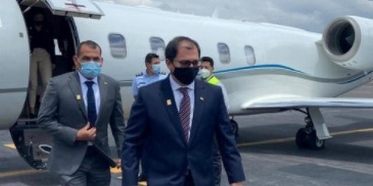 Fiscal Barbosa visitó Ecuador
