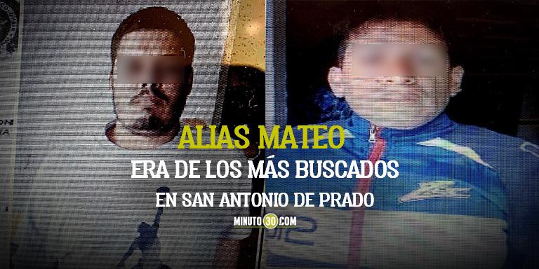capturados por homicidio en San Antonio de Prado