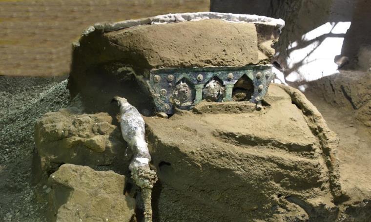 carroza pompeya ruinas