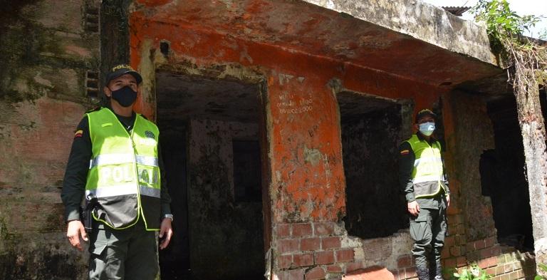 """¡""""Fuera abajo""""! a casa en Andes que servía para venta de droga al menudeo"""