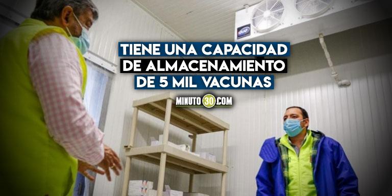 Manizales tiene listo el centro de acopio y refrigeración Covid