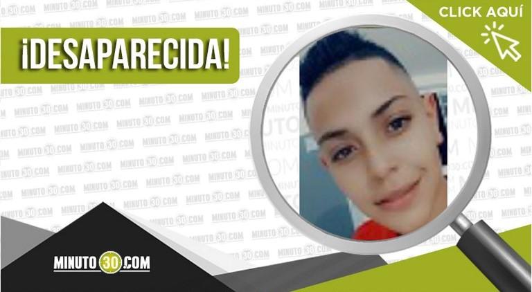 Laura Parra Laverde desaparecida