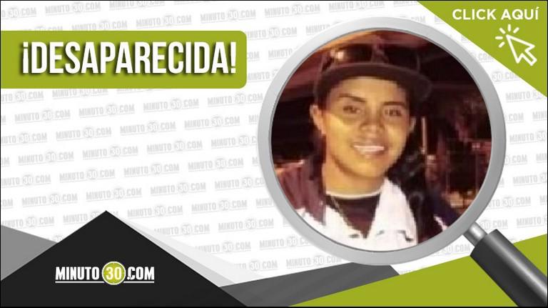 Estefanía Montoya Pineda desaparecida