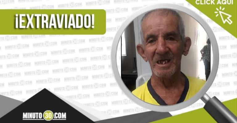 Fernando de Jesús Valencia Holguín extraviado