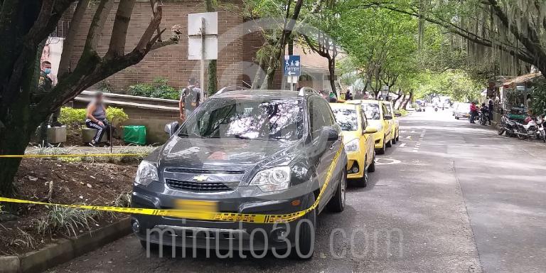 homicidio en el Barrio Machado Copacabana 2