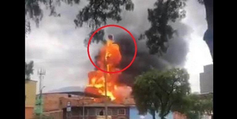 Incendio en Quiroga, Bogotá