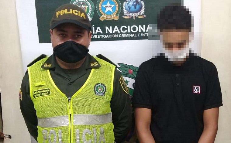 capturado un joven que pretendía cometer un hurto en inmediaciones del barrio Las Brisas