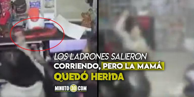 Niña enfrenta a machetazos a ladrones en Bogotá