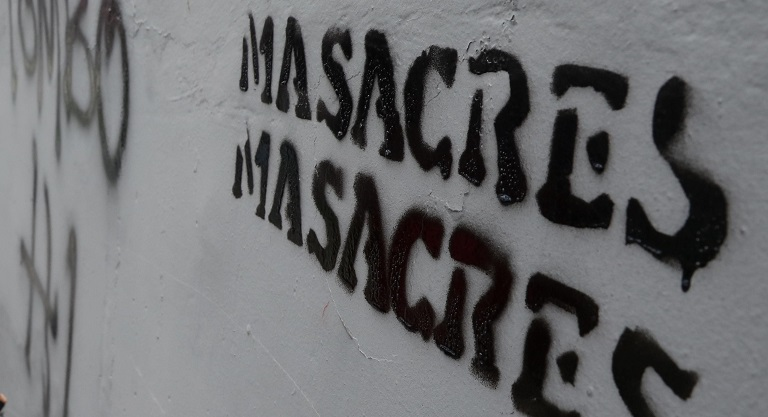 Al menos 753 líderes sociales fueron asesinados en Colombia entre 2016 y 2020