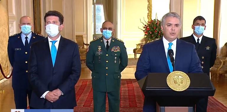 Duque designa a Diego Molano como nuevo Ministro de la Defensa