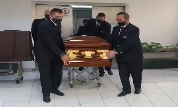Video: Trasladaron el cuerpo de Jorge Oñate de Medellín a Valledupar
