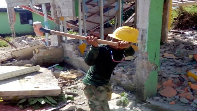 En Providencia iniciaron las demoliciones para la construcción de las nuevas viviendas