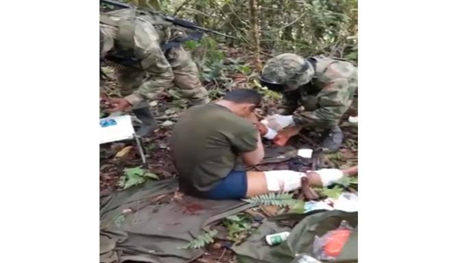 Video: Soldados salvaron la vida de un hombre que minutos antes les habría disparado