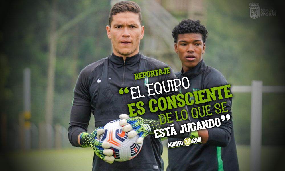 Aldair Quintana a hacer valer en Libertadores sus experiencias con la SelecciOn Colombia