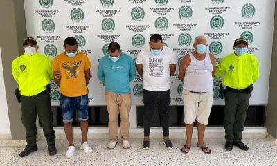 Capturaron cinco personas, señalados de ser los mayores proveedores de armas para el ELN y otras estructuras ilegales