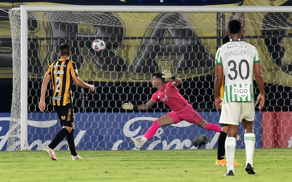 Atletico Nacional derroto a Guarani en Copa Libertadores 1