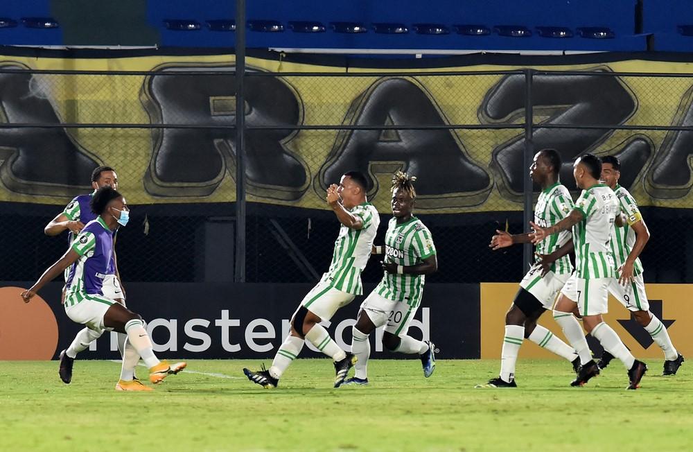 Atletico Nacional derroto a Guarani en Copa Libertadores 3