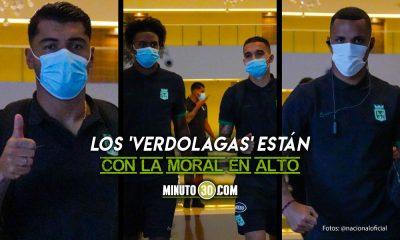 Atletico Nacional partio para el Defensores del Chaco cargado de buena energia