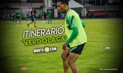 Atletico Nacional viajara este martes hacia Paraguay de cara a su debut en Copa Libertadores