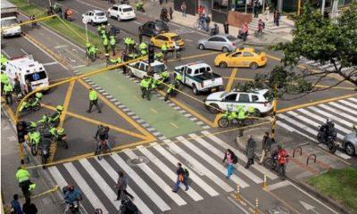 Presunto delincuente capturado tras balacera en la que murió un Policía en Bogotá sería venezolano