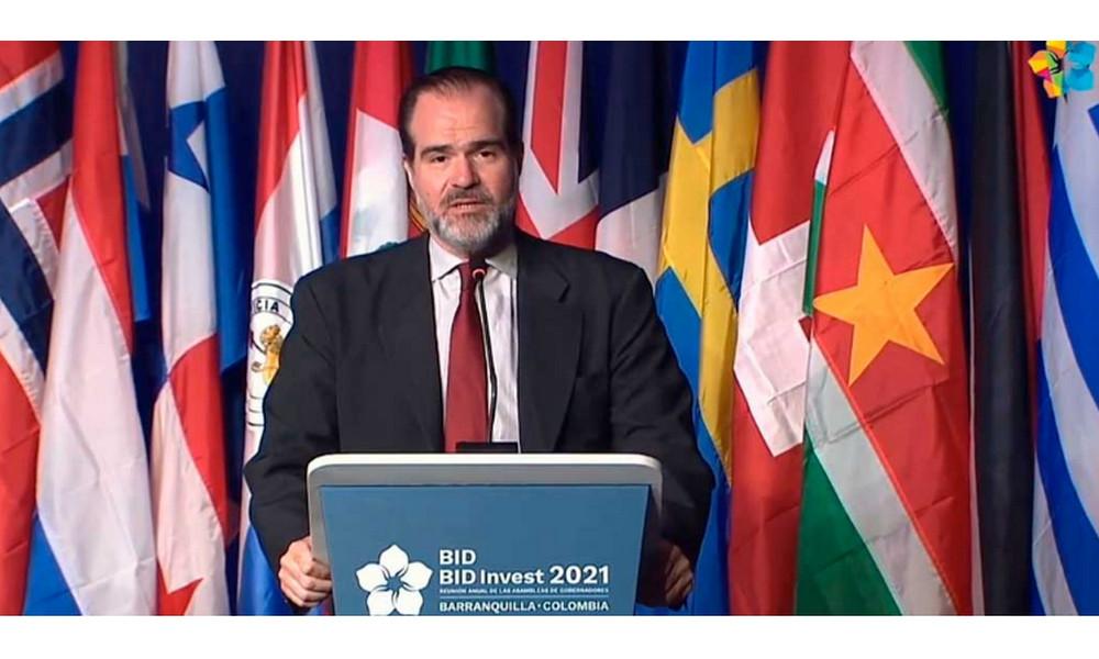 'Colombia ha dado ejemplo al mundo entero con el trato a los venezolanos', así lo expresó el Presidente del BID
