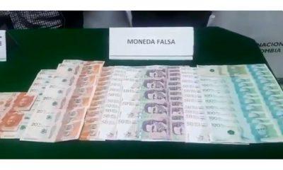 Capturan a hombre con más de 4 millones de pesos en billetes falsos