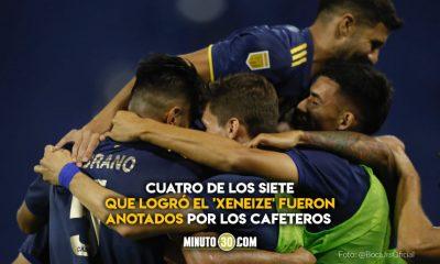 Boca Juniors goleo a Velez con una alta cuota de goles colombianos