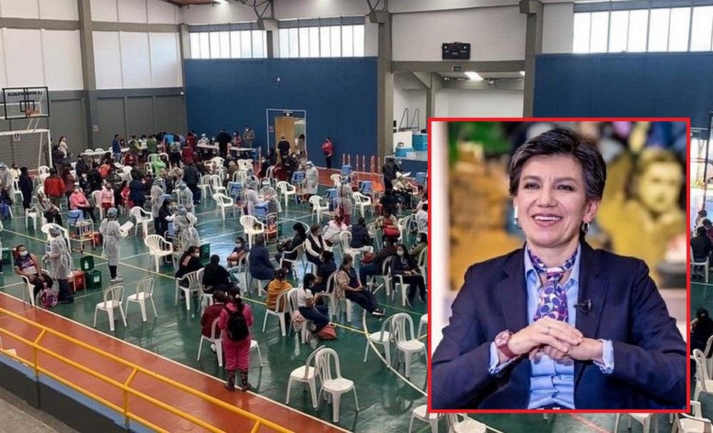 Bogotá batió récord de vacunas Covid en mayores de 80