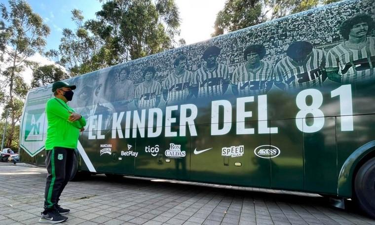 Bus de Atletico Nacional