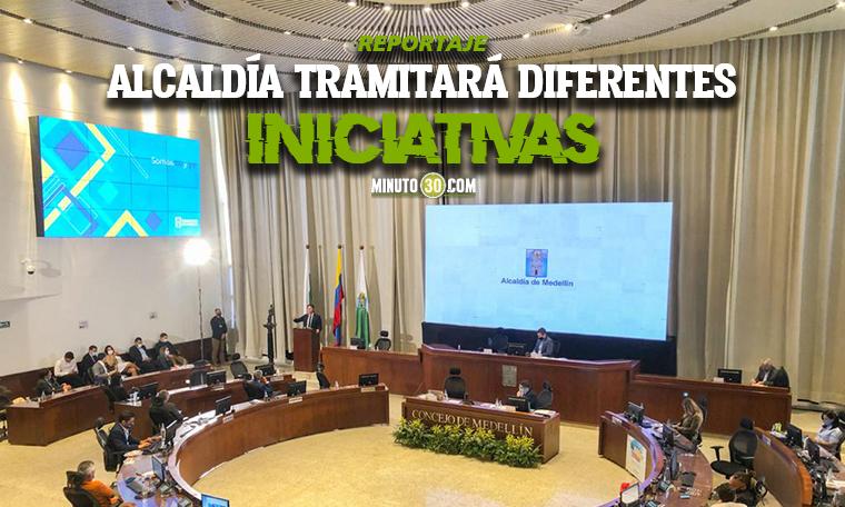Con iniciativas como la reforma a la Biblioteca Espana y proceso en Hidroituango Daniel Quintero instalo sesiones en el Concejo