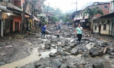 Alerta en Dabeiba: Fuertes lluvias causaron inundación, hay 180 viviendas y 52 locales comerciales afectados