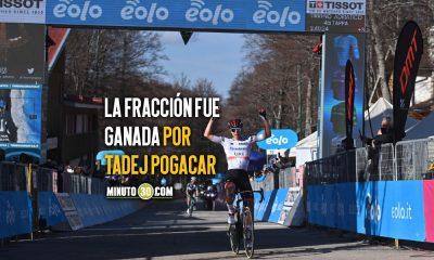Dos ciclistas colombianos entre los cinco primeros de la etapa 4 de la Tirreno Adriatico