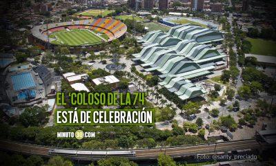 El Estadio Atanasio Girardot esta de cumple